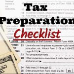 Kyle P Nagy, CPA's 2017 Tax Preparation Checklist